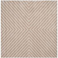 Safavieh Cambridge 6-Foot x 6-Foot Rosa Wool Rug in Grey/Taupe