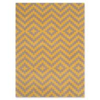 Safavieh Cambridge 5-Foot x 7-Foot Carly Wool Rug in Taupe and Gold
