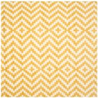 Safavieh Cambridge 6-Foot x 6-Foot Carly Wool Rug in Ivory and Gold