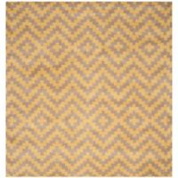 Safavieh Cambridge 6-Foot x 6-Foot Carly Wool Rug in Taupe and Gold