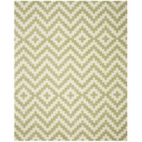 Safavieh Cambridge 8-Foot x 10-Foot Carly Wool Rug in Ivory and Light Green