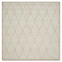 Safavieh Cambridge 6-Foot x 6-Foot Lexie Wool Rug in Light Grey/Ivory