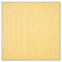 Safavieh Cambridge 6-Foot x 6-Foot Lexie Wool Rug in Gold/Ivory