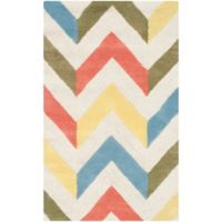 Safavieh Cambridge 2-Foot 6-Inch x 4-Foot Briana Wool Rug in Ivory/Multi