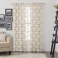 Pairs to Go™ Aldrich 63-Inch Rod Pocket Window Curtain Panel Pair in Toffee