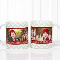 Picture Perfect Christmas 11 oz. Photo Mug in White