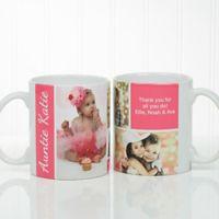 Family Love 11 oz. Photo Collage Coffee Mug in White
