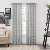 Pairs to Go™ Arlene 84-Inch Rod Pocket Window Curtain Panel Pair in Mint