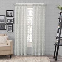 Pairs to Go™ Brockwell 63-Inch Rod Pocket Window Curtain Panel Pair in Spa