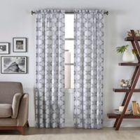 Pairs To Go™ Kesey 95-Inch Rod Pocket Window Curtain Panel Pair in Grey