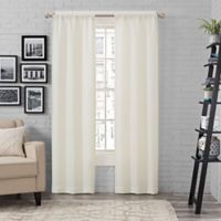 Pairs To Go™ Ibiza 63-Inch Rod Pocket Window Curtain Panel Pair in Ivory