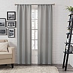Pairs To Go™ Ibiza 63-Inch Rod Pocket Window Curtain Panel Pair in Silver