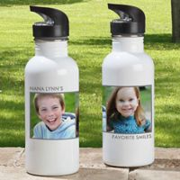 2-Photo Picture Perfect 20 oz. Water Bottle