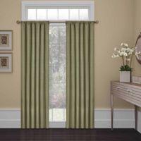 SolarShield® Kate 54-Inch Rod Pocket Room Darkening Window Curtain Panel in Artichoke