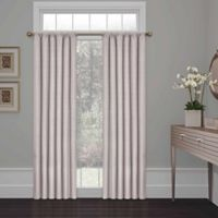 SolarShield® Kate 54-Inch Rod Pocket Room Darkening Window Curtain Panel in Grey