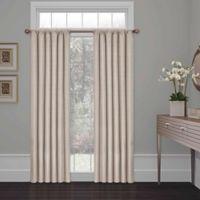 SolarShield® Kate 54-Inch Rod Pocket Room Darkening Window Curtain Panel in Light Grey