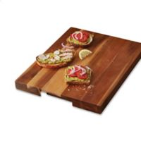 Artisanal Kitchen Supply® Acacia Wood 18-Inch x 14-Inch Cutting Board