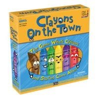 Crayons on the Town Board Game