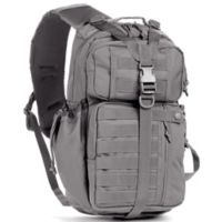Red Rock Outdoor Gear Rambler Sling Backpack in Tornado Grey