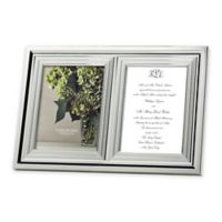 Vera Wang Wedgwood® with Love 5-Inch x 7-Inch Double Invitation Frame