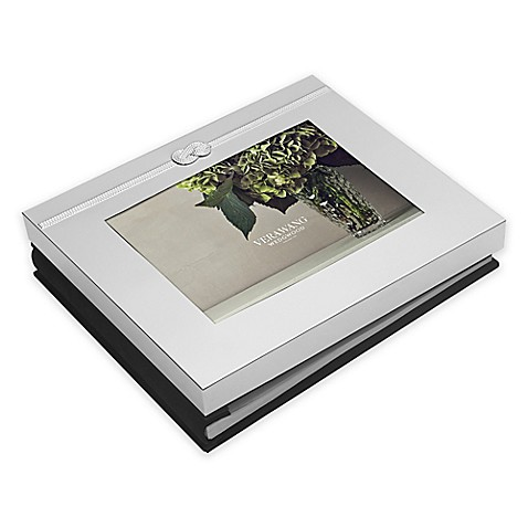 image of Vera Wang Wedgwood® Vera Infinity 5-Inch x 7-Inch Photo Guest Book