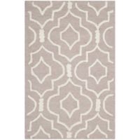 Safavieh Cambridge 2-Foot x 3-Foot Taylor Wool Rug in Beige/Ivory