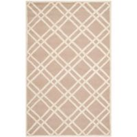 Safavieh Cambridge 6-Foot x 9-Foot Trina Wool Rug in Beige/Ivory