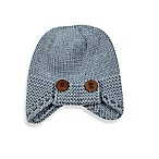 Troy James Newborn Aviator Hat in Grey