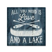 Up North I 14-Inch x 14-Inch Canvas Wall Art