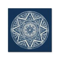 Seville I 18-Inch x 18-Inch Canvas Wall Art in Dark Blue