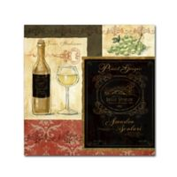 Fiona Stokes-Gilbert Italian Wine Patch 35-Inch Square Canvas Wall Art