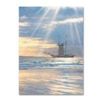 The Macneil Studio Sail 35-Inch x 47-Inch Canvas Wall Art