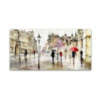 Street Walk 2 24-Inch x 47-Inch Canvas Wall Art