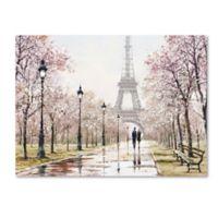 The Macneil Studio Eiffel Tower 18-Inch x 24-Inch Canvas Wall Art