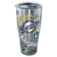 Tervis® MLB Milwaukee Brewers All Over 30 oz. Stainless Steel Tumbler with Lid