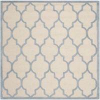 Safavieh Cambridge 6-Foot x 6-Foot Tara Wool Rug in Ivory/Light Blue