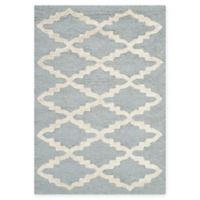 Safavieh Cambridge 2-Foot x 3-Foot Jada Wool Rug in Silver/Ivory