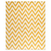 Safavieh Cambridge 9-Foot x 12-Foot Abby Wool Rug in Gold/Ivory