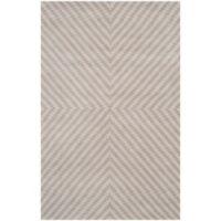 Safavieh Cambridge 4-Foot x 6-Foot Rosa Wool Rug in Grey/Taupe