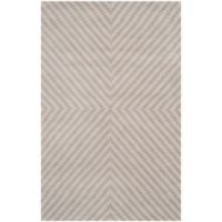 Safavieh Cambridge 8-Foot x 10-Foot Rosa Wool Rug in Grey/Taupe