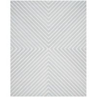 Safavieh Cambridge 8-Foot x 10-Foot Jenn Wool Rug in Light Blue/Ivory