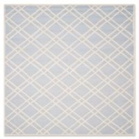 Safavieh Cambridge 8-Foot x 10-Foot Trina Wool Rug in Light Blue/Ivory