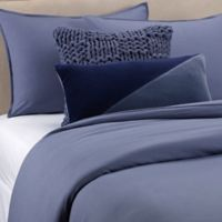 Kenneth Cole Mineral Yarn-Dyed Full/Queen Comforter Set in Denim