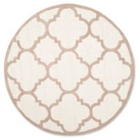 Safavieh Cambridge 6-Foot x 6-Foot Lynn Wool Rug in Ivory/Beige