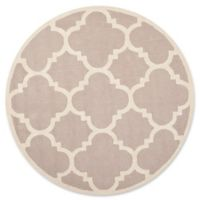 Safavieh Cambridge 6-Foot x 6-Foot Lynn Wool Rug in Beige/Ivory