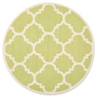 Safavieh Cambridge 6-Foot x 6-Foot Lynn Wool Rug in Green/Ivory
