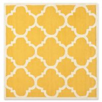 Safavieh Cambridge 6-Foot x 6-Foot Lynn Wool Rug in Gold/Ivory