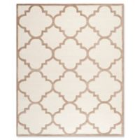 Safavieh Cambridge 8-Foot x 10-Foot Lynn Wool Rug in Ivory/Beige