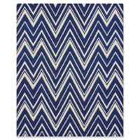 Safavieh Cambridge 8-Foot x 10-Foot Olivia Wool Rug in Navy /Ivory