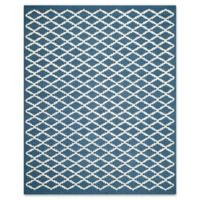 Safavieh Cambridge 8-Foot x 10-Foot Jada Wool Rug in Navy /Ivory
